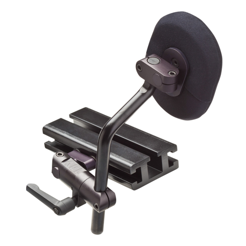 "POSAlinc® 360 Swing-Away Knee Adductor: 3"" x 4"" Pad, Track Mount, Standard Post, Left"